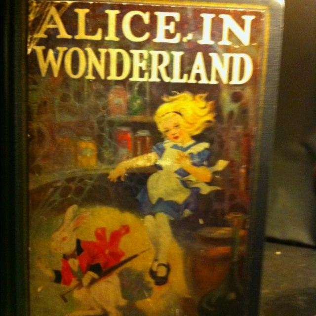 Grandmom's original Alice in Wonderland.