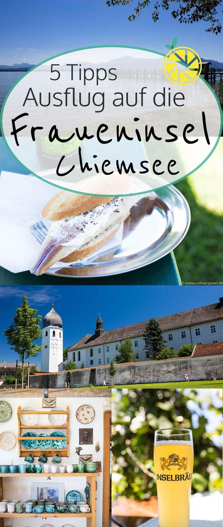 5 Tipps für einen Ausflug auf die Fraueninsel im Chiemsee
