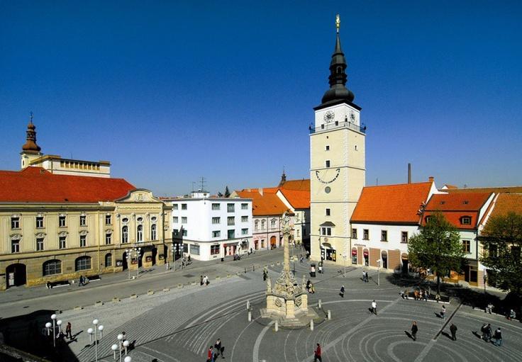 Slovakia, Trnava - Trinity Square