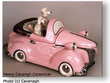 Henry Cavanagh's Jars: Pink Poodles