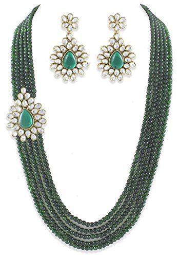 Elegant Indian Bollywood Stylish 5-Line Kundan Green Broo... https://www.amazon.com/dp/B01NCX3320/ref=cm_sw_r_pi_dp_x_QIyMybZNZQBX6