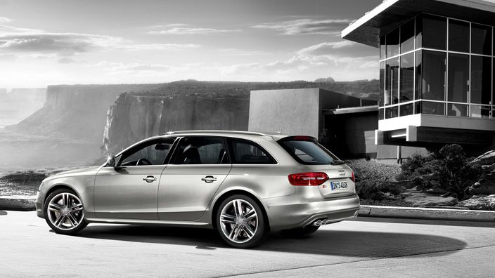 Power. Efficiency. Intelligence. Concepts that are united in one symbol: the S emblem. An Audi that bears this symbol in its name belongs to an impressive tradition of superior sports cars. Like the Audi S4 Avant. Source: Audi AG