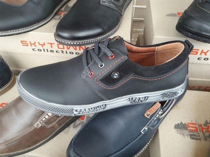 Мужские спортивные туфли на шнуровке серые