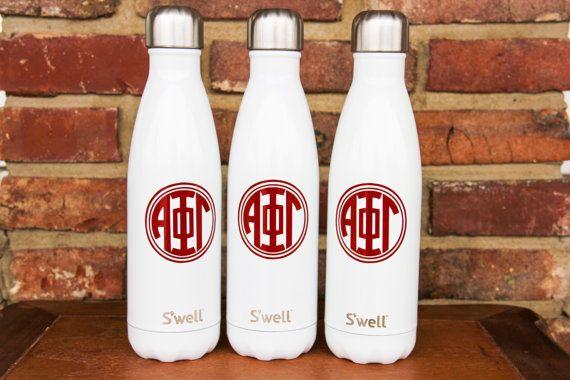 Sorority S'well Bottles - College, Sports, Sorority, Bridesmaid, Birthday, Christmas, Workout Swell Bottle