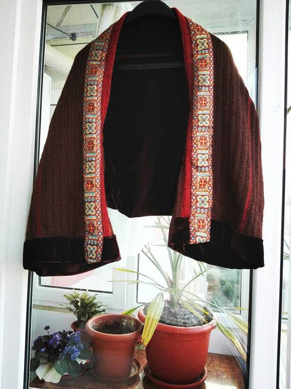 Hey, I found this really awesome Etsy listing at https://www.etsy.com/listing/530900363/brown-shrug