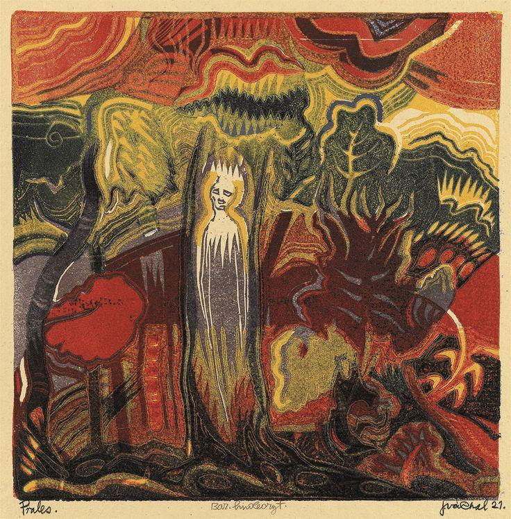 Josef Váchal, Prales (Duše lesa), 1921