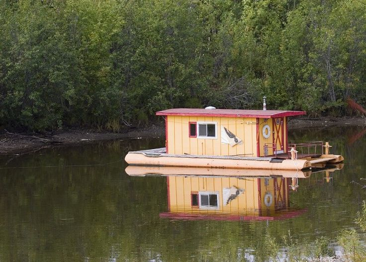find this pin and more on lot inspiration houseboat - Small Houseboat