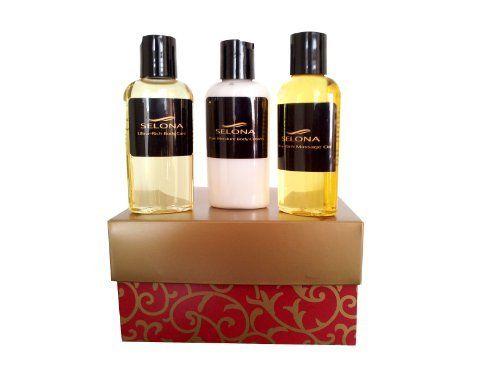 3-Piece Argan Oil & Skincare Cream Collection by Selona. $38.99. 3-Piece Set. Natural. Pure Argan Oil. Gift Set. Gift Box Included. 100% Moroccan Tree Argan Oil (2 oz.), Pure Moisture Pedicure Cream (2 oz.), and Islandia Mint Pedicure Oil (2 oz.)