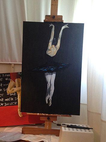 ballet by Duarte Almada acrylic