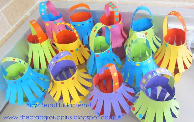 """""""The Craft Group"""" plus...: Lantern making... a craft for kids"""