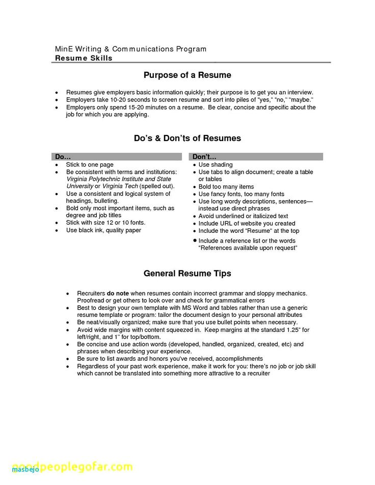 Can i use i in a resume fresh fresh examples resumes