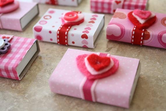 Valentine's matchbox