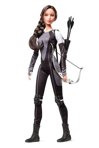 Not sure how we feel about Barbie's take on Catching Fire..