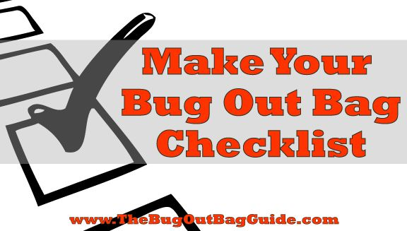 Plan Your Bug Out Bag Contents W/ Our Free Tool -The Bug Out Bag Guide