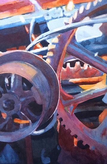 """Sarah Yeoman - Work Zoom: """"Rust Never Sleeps"""""""