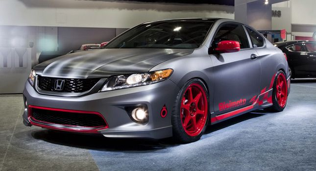 2013 Honda Accord Coupe and Sedan Take the Stage at the SEMA Show - Carscoop