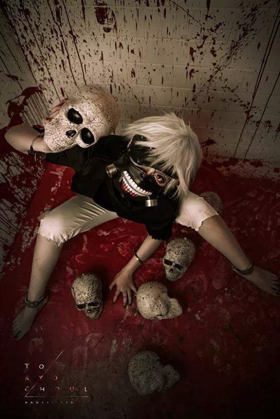 Kaneki Ken   Tokyo Ghoul #cosplay #anime This is too perfect!