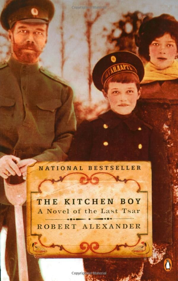 """fascinating story of the final days of Nicholas and Alexandra as seen through the eyes of the Romanovs' young kitchen boy, Leonka. Now an ancient Russian immigrant, Leonka claims to be the last living witness to the Romanovs' brutal murders and sets down the dark secrets of his past with the imperial family. Historically vivid and compelling."