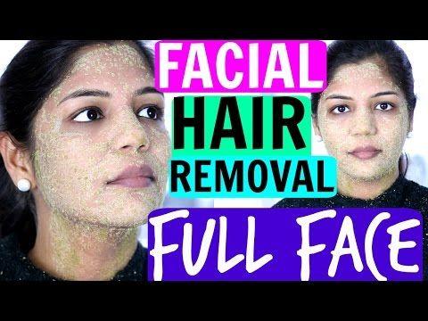 EGG Facial Hair Removal At Home Permanently | SuperPrincessjo - YouTube
