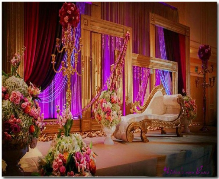 62 best wedding stage decor images on pinterest indian bridal wedding stage decors junglespirit Choice Image