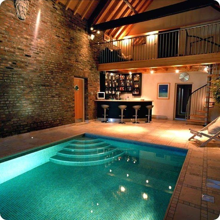 20 Homes With Beautiful Indoor Swimming Pool Designs Indoor