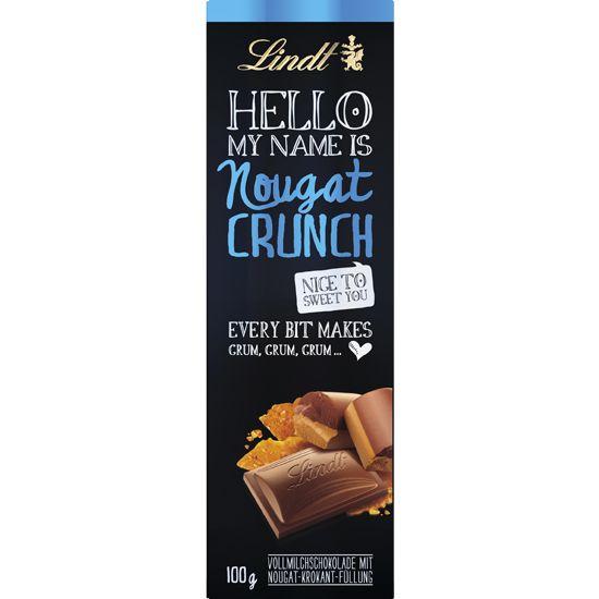Lindt Hello Nougat Crunch Bar 100g