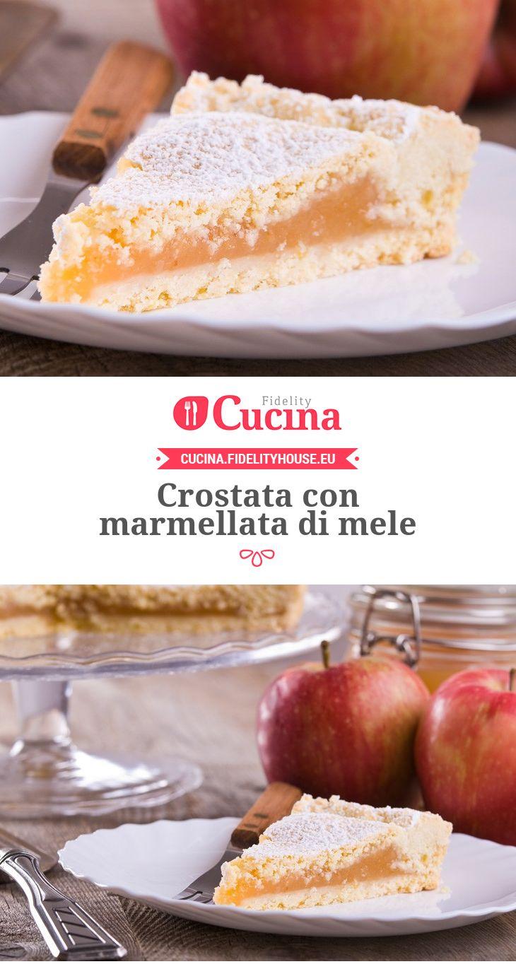 #Crostata con #marmellata di #mele