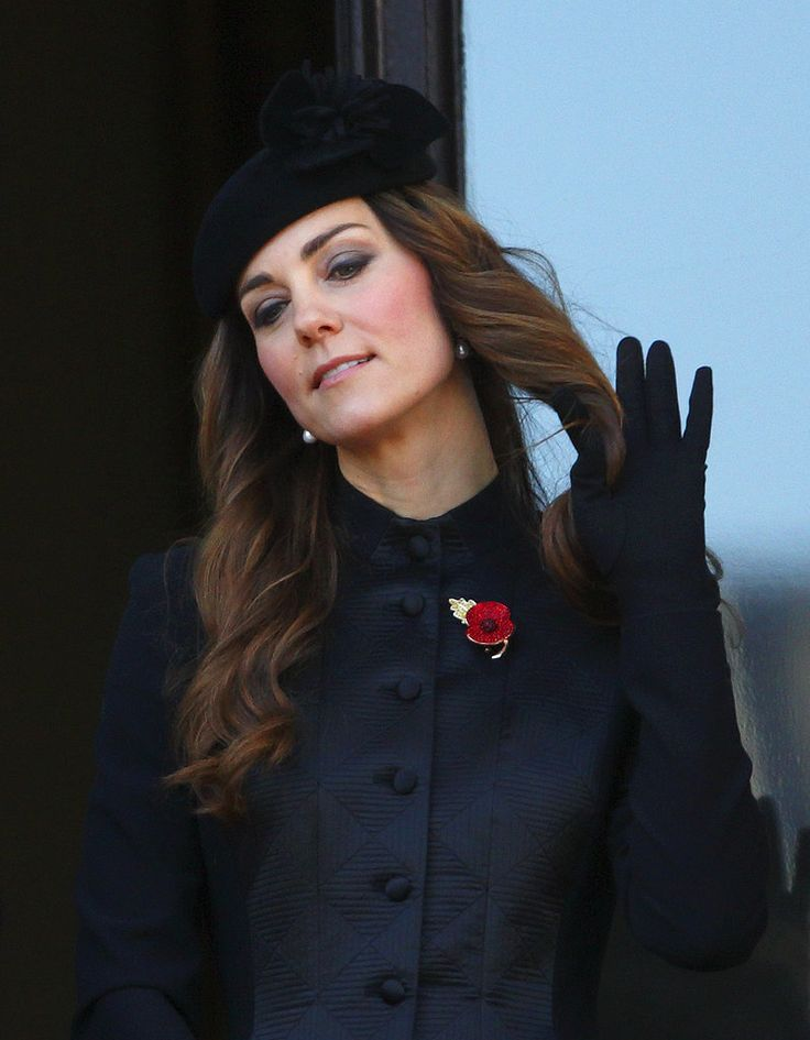 Even if it's not very princess-y behavior, we love when Kate Middleton lets her hair down.:
