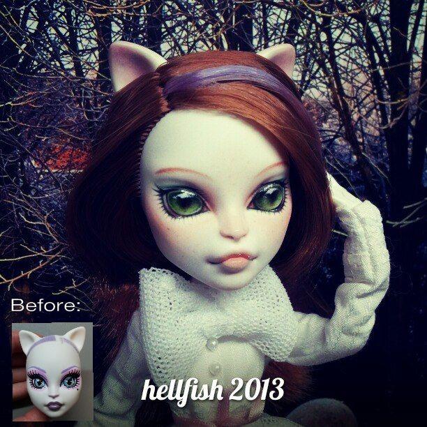 """""""Katüsha"""" - custom Monster High doll"""