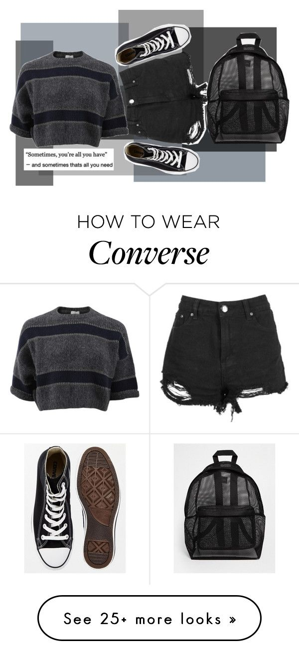 """""""gray skies w/ gray feelings"""" by awesome-sauce77 on Polyvore featuring Converse, Boohoo, ASOS and Brunello Cucinelli"""