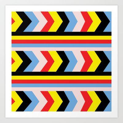 Pop Art Art Print by Floorb - $17.68