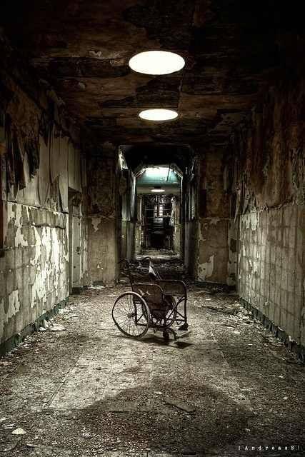 An abandoned asylum
