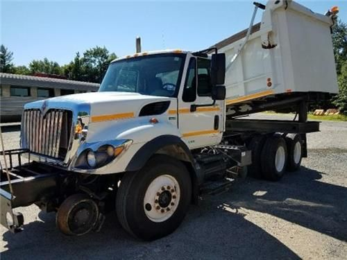 2010 International Rotary Dump Truck Hi Rail Railroad 7400 Texas