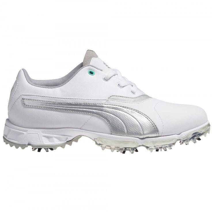 Puma Women's Golf Shoe BioPro 187588-02 White/Silver from @golfskipin