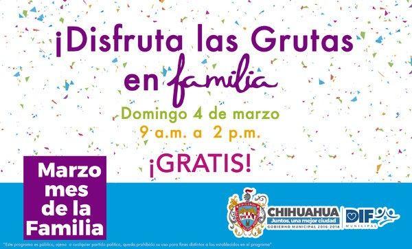 Invita Gobierno Municipal a celebrar mañana el Día de la Familia en las Grutas de Nombre de Dios   El Puntero
