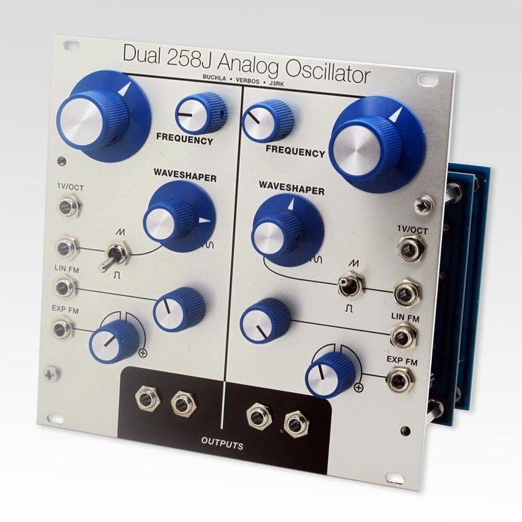 Dual 258j oscillator kit thonk diy synthesizer kits
