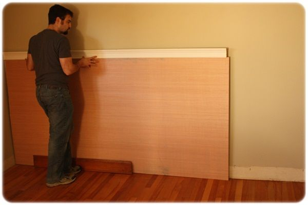 Duh Cover Textured Walls With Plywood Instead Of Sanding