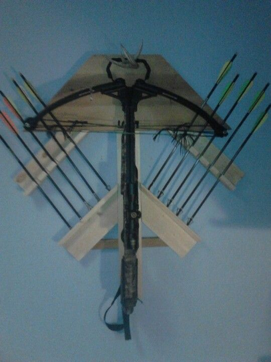 How To Build A Compound Bow Rack Woodworking Projects