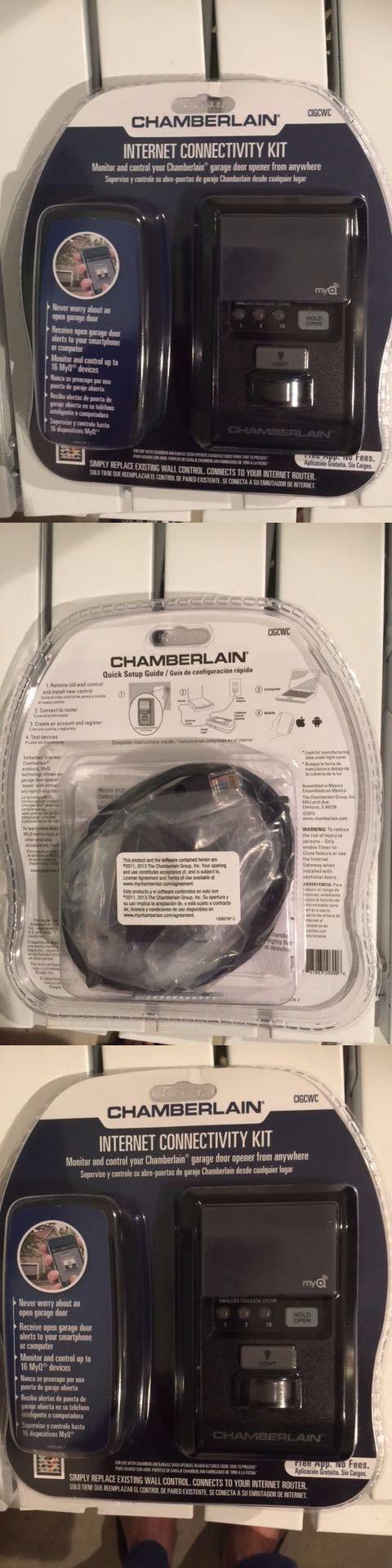 Garage Door Remotes 85899: Chamberlain Cigcwc Smartphone Connectivity Kit For Chamberlain Garage Door Open -> BUY IT NOW ONLY: $79 on eBay!