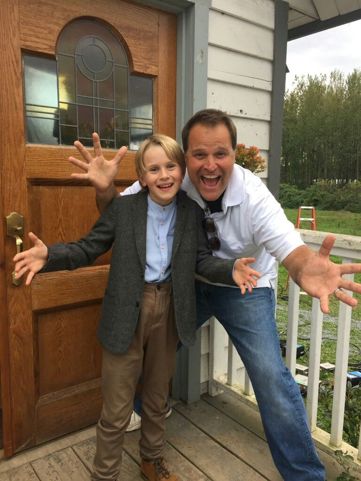 Peter DeLuise and Cody