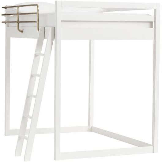 Waverly Loft Bed Full Simply White With Images Loft