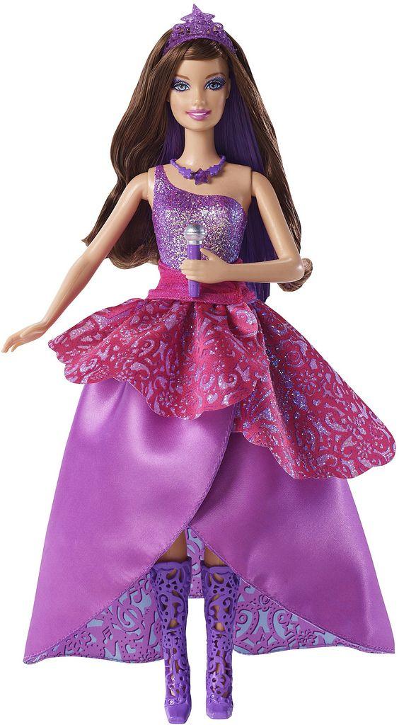 Barbie Life in the Dreamhouse: Barbie en la princesa y la estrella del pop muñecas