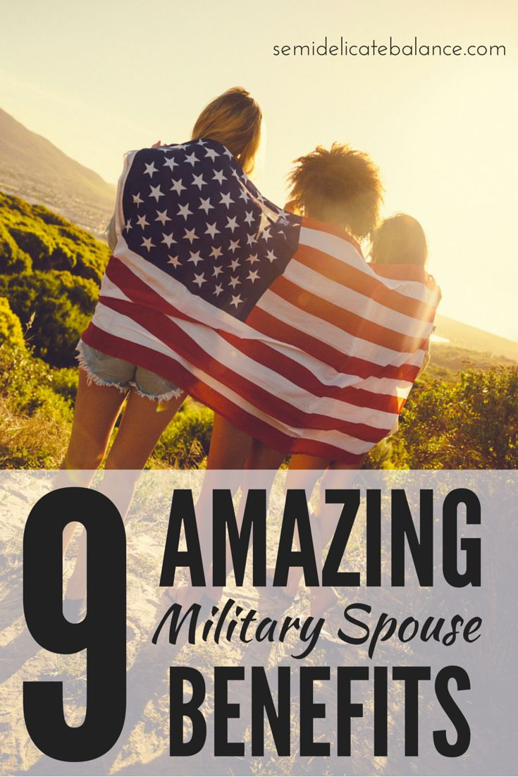 Most military spouses already know the standard benefits that come along with the life style. Here are 9 amazing military spouse benefits.