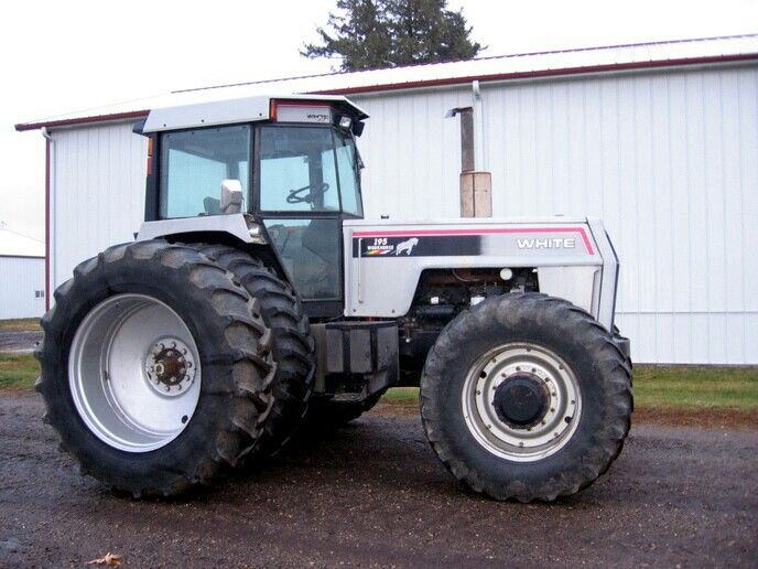 195 White Tractor : Best farm equipment images on pinterest farming