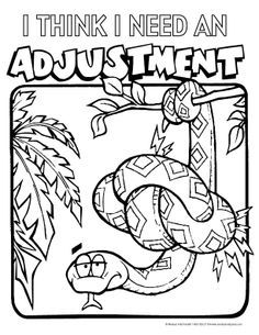 chiropractic coloring pages - Google Search