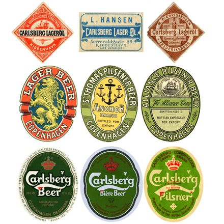 History of the Carlsberg Label