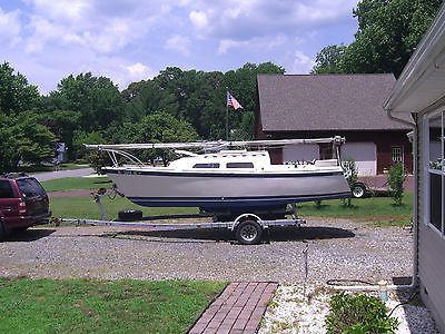 eBay: 22 Foot ODAY Sailboat with Trailer- for Singlehander, Family or Beginner #boatsales #boats usdeals.rssdata.net