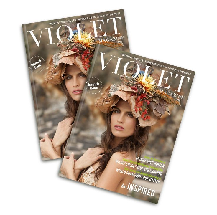 Violet Magazine - get it from the app store