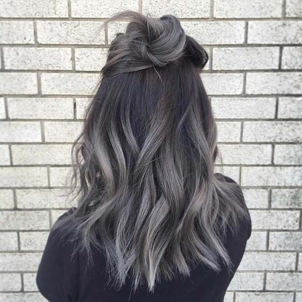 23 Silver Hair Color Ideas and Trends for 2018