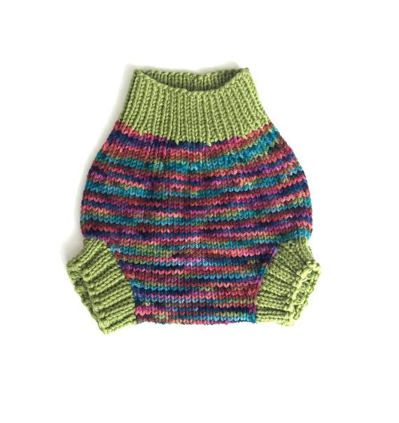 Wool diaper cover, size small